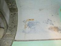 Vista del tramo norte de la bóveda del presbiterio.
